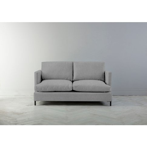 Justin Two-Seater Sofa Bed In Silver Spoon