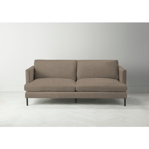 Justin Four-Seater Sofa In Belgian Chocolate