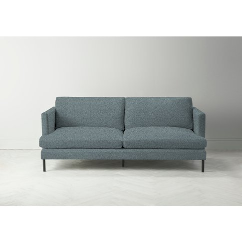 Justin Four-Seater Sofa In Caspian Blue