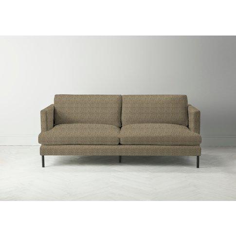 Justin Four-Seater Sofa In Limestone