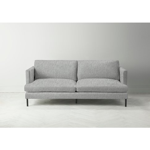 Justin Four-Seater Sofa In The Great White