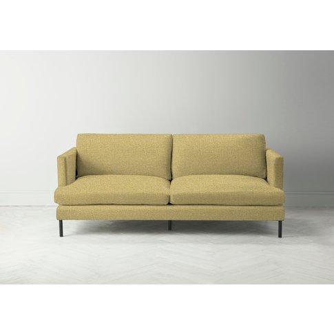 Justin Four-Seater Sofa In Trombone Yellow