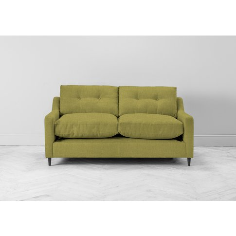 Nathan Two-Seater Sofa Bed In Granny Smith