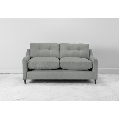 Nathan Two-Seater Sofa Bed In Sidewalk Grey