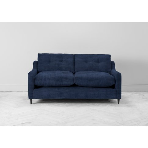 Nathan Three-Seater Sofa Bed In Blue Lavender