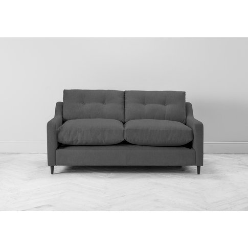 Nathan Three-Seater Sofa Bed In Eggshell Grey