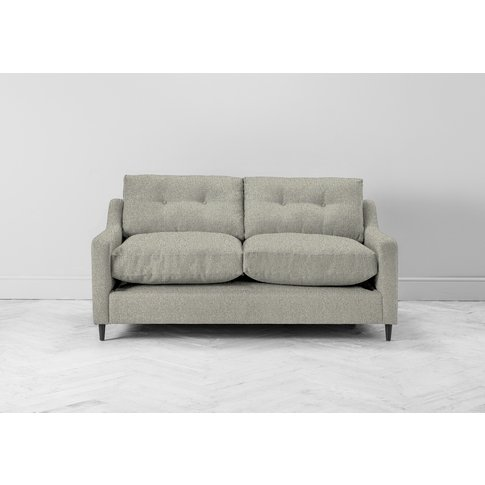 Nathan Two-Seater Sofa In Silver Weave