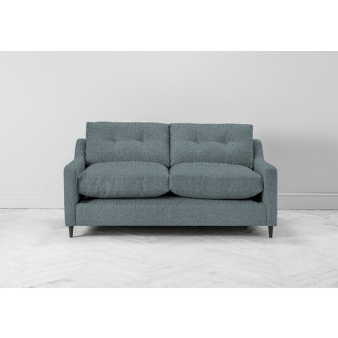 Nathan Three-Seater Sofa In Caspian Blue