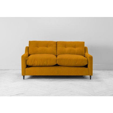Nathan Three-Seater Sofa In Medallion Gold