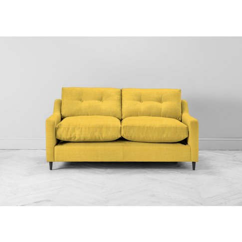 Nathan Three-Seater Sofa In Summer Buttercup