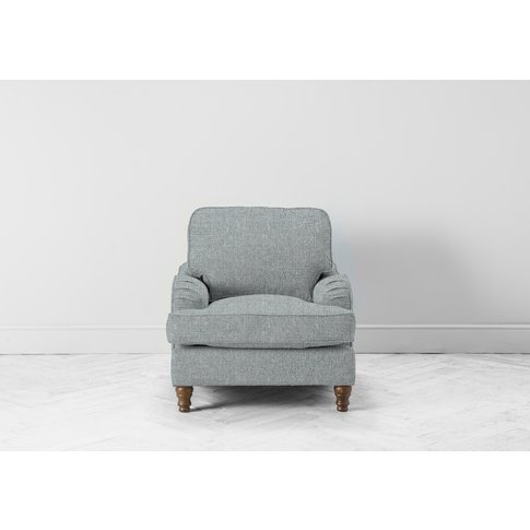 Robyn Accent Chair In Airforce Blue