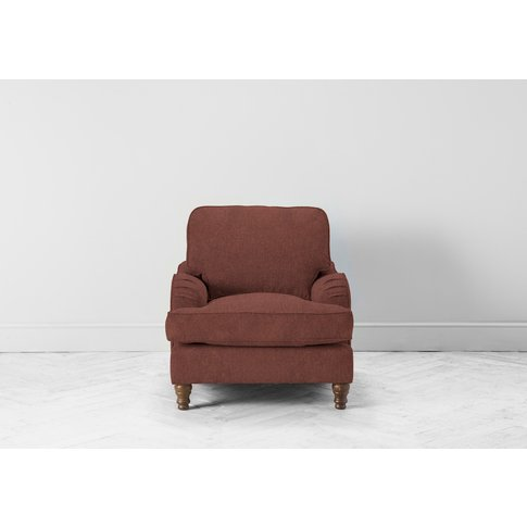 Robyn Accent Chair In Cinnamon Latte