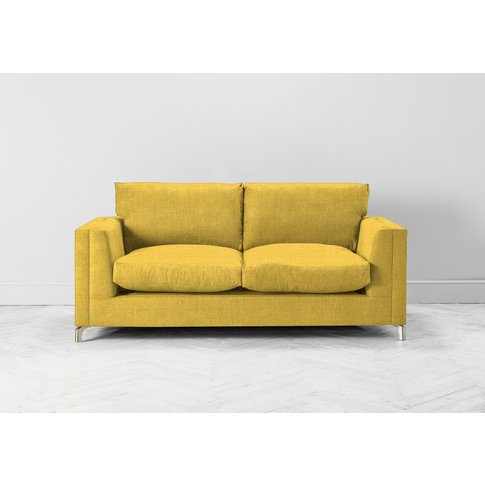 Chris Two-Seater Sofa In Summer Buttercup