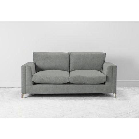 Chris Two-Seater Sofa Bed In Sidewalk Grey