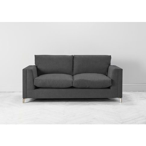 Chris Three-Seater Sofa In Eggshell Grey