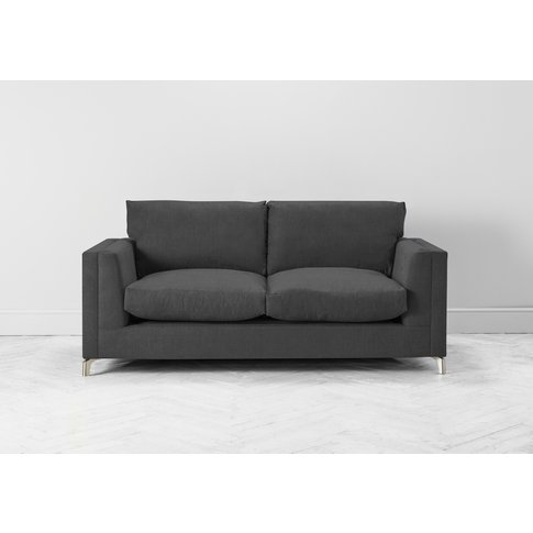 Chris Three-Seater Sofa Bed In Dusky Grey