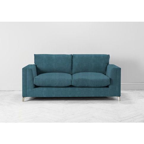 Chris Three-Seater Sofa Bed In Viridian