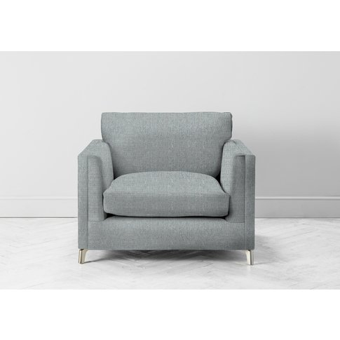 Chris Armchair In Airforce Blue