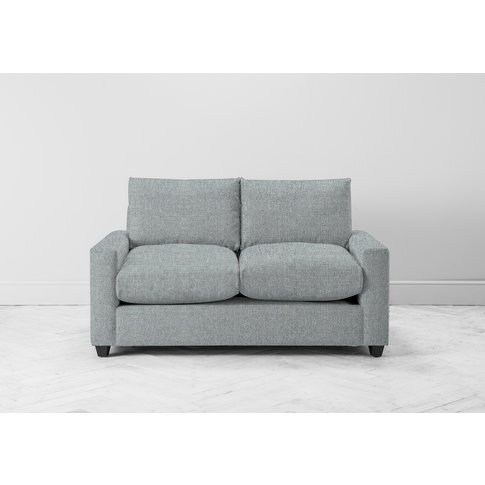 Mimi Two-Seater Sofa Bed In Airforce Blue