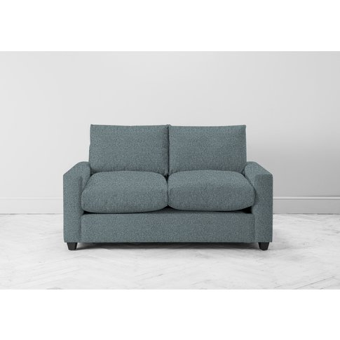 Mimi Two-Seater Sofa Bed In Caspian Blue
