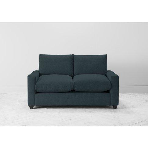 Mimi Three-Seater Sofa Bed In Denim Blue