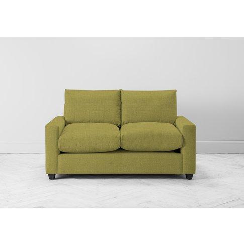 Mimi Three-Seater Sofa Bed In Granny Smith