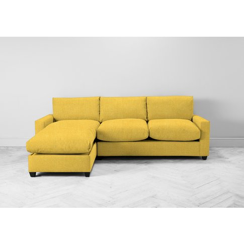 Mimi Left Hand Chaise Ottoman Sofa Bed In Summer But...