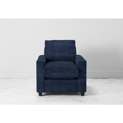 Mimi Armchair In Blue Lavender