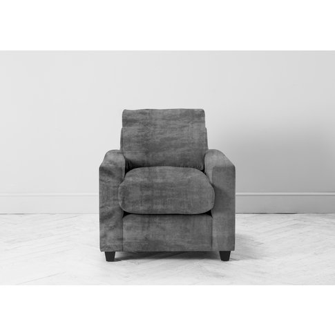 Mimi Armchair In Cloudy Grey