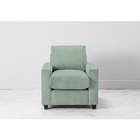 Mimi Armchair In Thyme Green