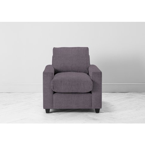 Mimi Armchair In Violet Leaf