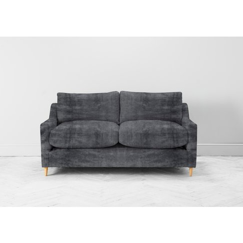 Josh Two-Seater Sofa In Rhino Grey