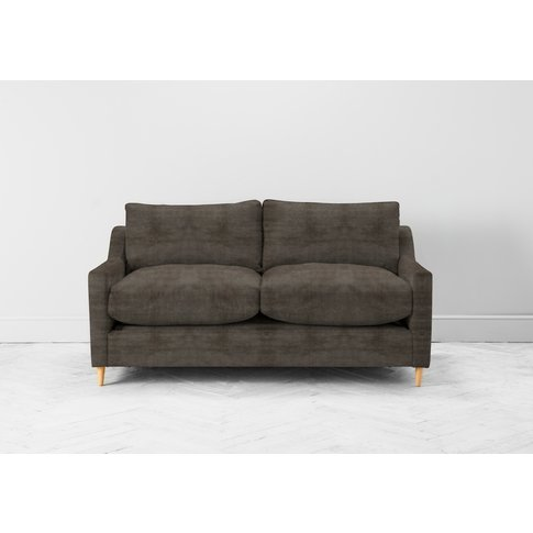 Josh Two-Seater Sofa Bed In Chestnut