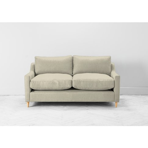 Josh Three-Seater Sofa In Chantilly Cream