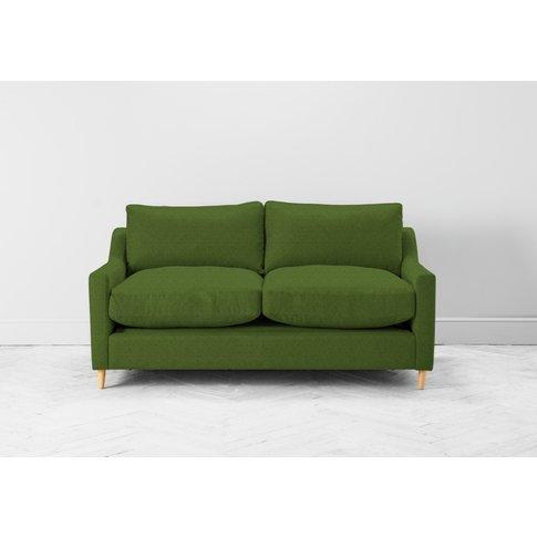 Josh Three-Seater Sofa In Juniper Green