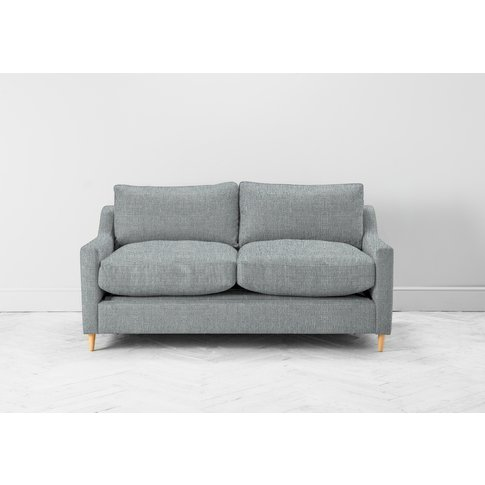 Josh Three-Seater Sofa Bed In Airforce Blue