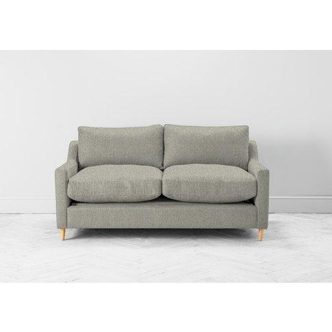 Josh Three-Seater Sofa Bed In Silver Weave