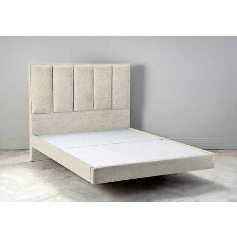 """Waft 4'6 Double Size Bed Frame In Abalone Beige"""""""