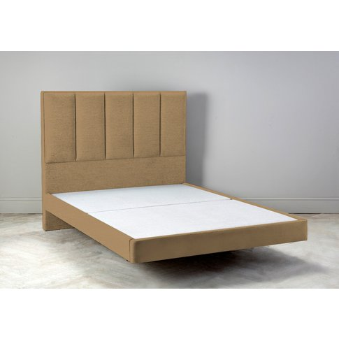 """Waft 4'6 Double Size Bed Frame In Ginger Tea"""""""