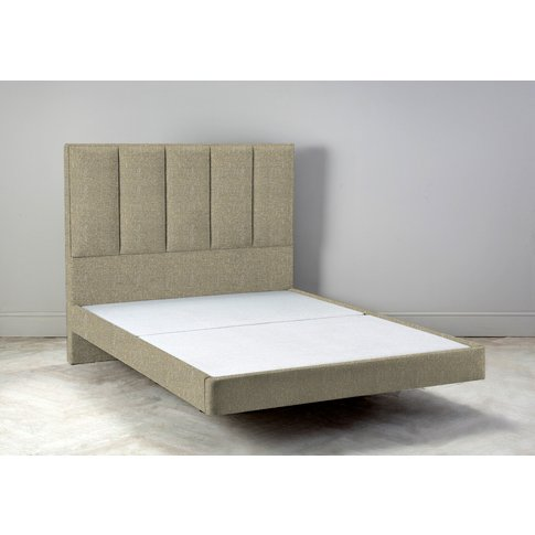 """Waft 4'6 Double Size Bed Frame In Tortellini"""""""