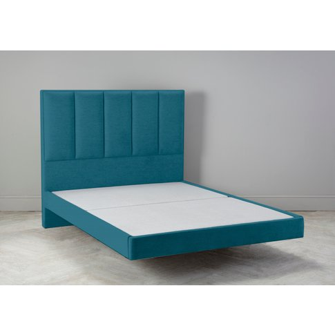 Waft 6' Super King Size Bed Frame In Spanish Blue