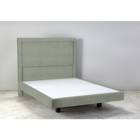 """Hover 4'6 Double Size Bed Frame In Peppermint"""""""