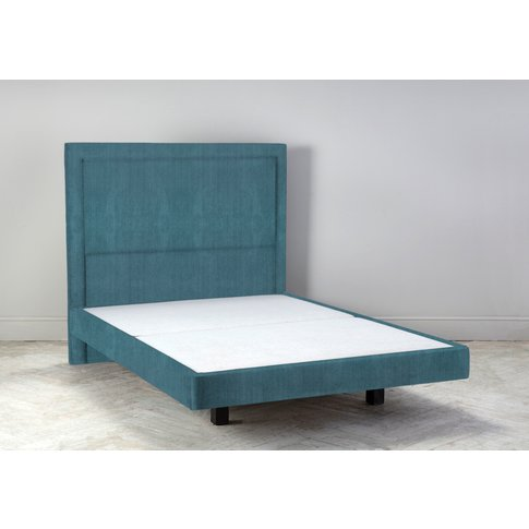 """Hover 4'6 Double Size Bed Frame In Viridian"""""""