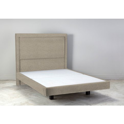 """Hover 4'6 Double Size Bed Frame In Welsh Flint"""""""