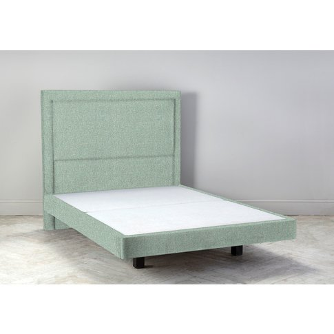 Hover 5' King Size Bed Frame In Thyme Green