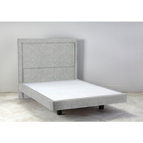 Hover 6' Super King Size Bed Frame In The Great White