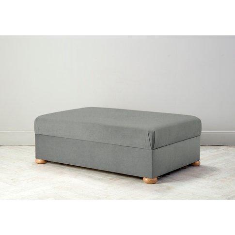 Hyde Bed In A Box, Small In Sidewalk Grey