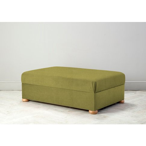 Hyde Bed In A Box, Large In Granny Smith