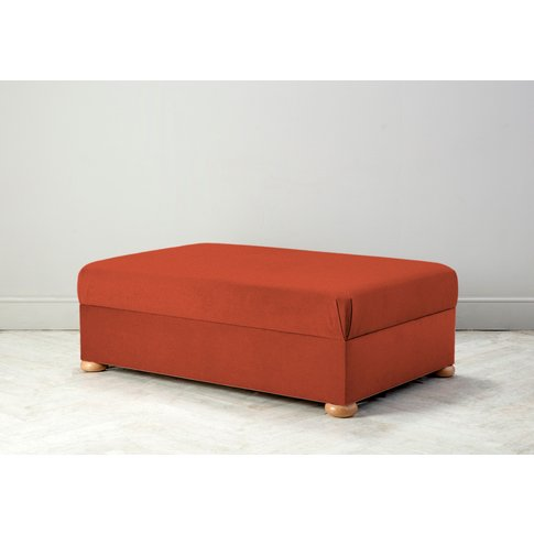 Hyde Bed In A Box, Large In Marmalade Orange