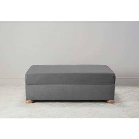 Hyde Bed In A Box, Large In Proper Grey